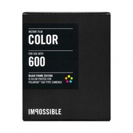 IMPOSSIBLE 600 COLOR (Cadre Noir)
